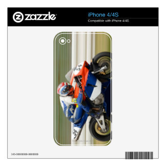 Motorcycle Race Skins For The iPhone 4