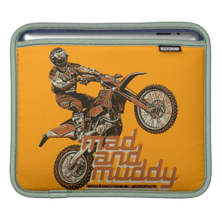Motorcycle racer sleeves for iPads