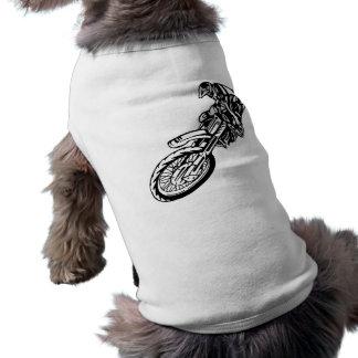 Motorcycle Racers Dog Tee