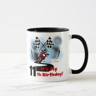 Motorcycle Racing 11th Birthday Mug