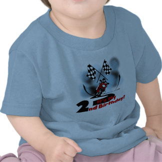 Motorcycle Racing 2nd Birthday Tshirts and Gifts