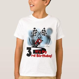 Motorcycle Racing 3rd Birthday Tshirts
