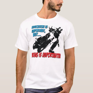 Motorcycle Racing & Education t shirt