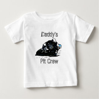 Motorcycle RACING Fans for big and little men! Baby T-Shirt