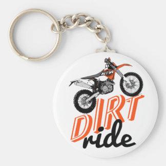 Motorcycle racing keychain