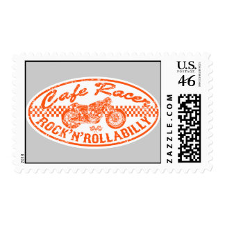 Motorcycle racing postage stamps