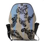 Motorcycle Racing Rickshaw Messenger Bag