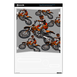 Motorcycle racing skin for xbox 360 s