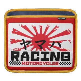 Motorcycle racing sleeve for iPads