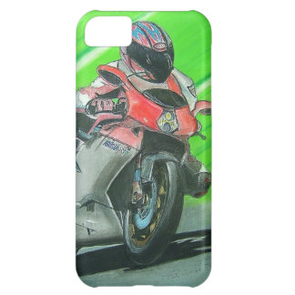 Motorcycle racing themed iPhone case Cover For iPhone 5C