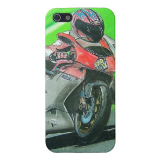 Motorcycle racing themed iPhone case Cover For iPhone 5