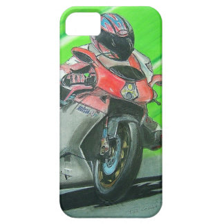 Motorcycle racing themed iPhone case iPhone 5 Cases