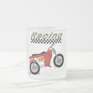 Motorcycle Racing Tshirts and Gifts Frosted Glass Mug