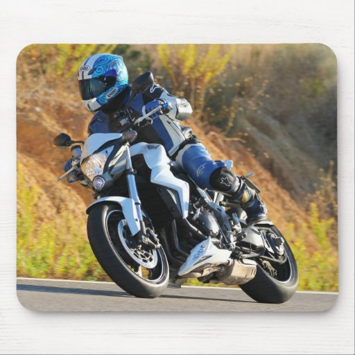 MOTORCYCLE RACING XTREME MOUSE PAD