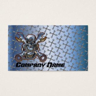 Motorcycle Repair  Business Card