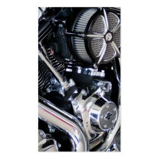 Motorcycle repair mechanic customization shop business card