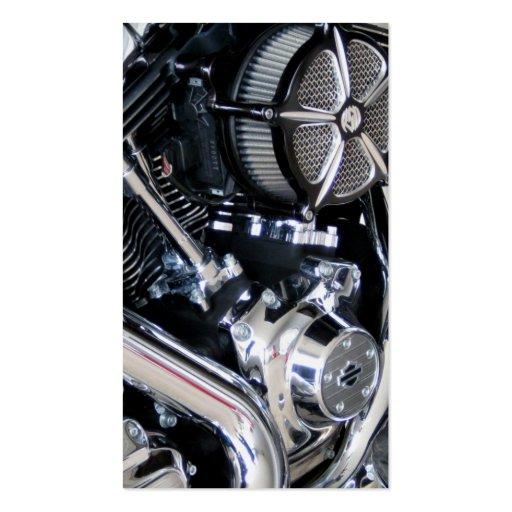 Motorcycle repair mechanic customization shop business card templates