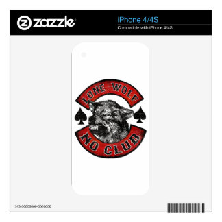 Motorcycle rider iPhone 4 decal