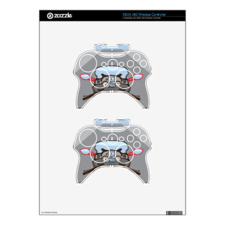 Motorcycle Riders View Color Road ahead Xbox 360 Controller Skin