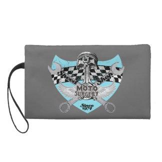 Motorcycle riders wristlet purse