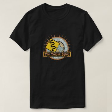 Beach Themed Motorcycle road The Twisted Sisters T-Shirt