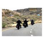 Motorcycle Road Trip - Biker Trio Large Business Cards (Pack Of 100)