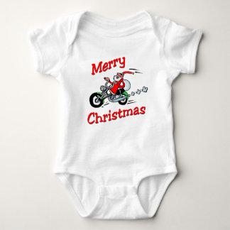 Motorcycle Santa Baby Bodysuit