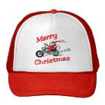 Motorcycle Santa Hat