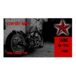 Motorcycle Shop Business Card Template