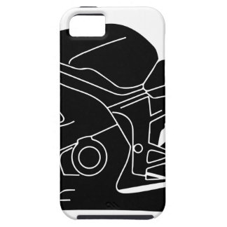 motorcycle silhouette iPhone SE/5/5s case