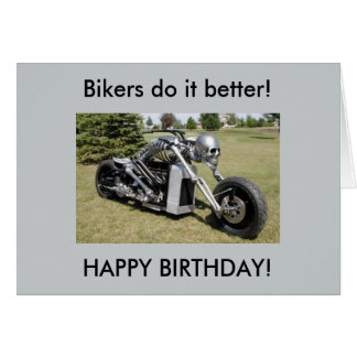 Motorcycle Birthday Gifts on Zazzle
