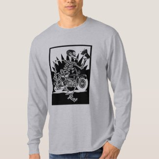 Motorcycle Skeleton T-Shirt