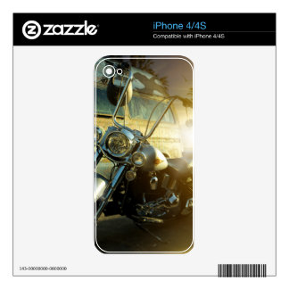 motorcycle skin for iPhone 4S