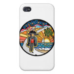 Motorcycle - Skyway iPhone 4/4S Cases