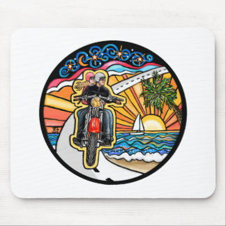 Motorcycle - Skyway Mouse Pad