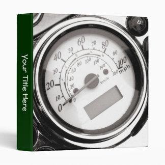Motorcycle Speedometer Binder