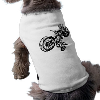 Motorcycle Sport Bikes Dog T Shirt