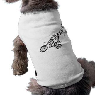 Motorcycle Sport Doggie Tee Shirt