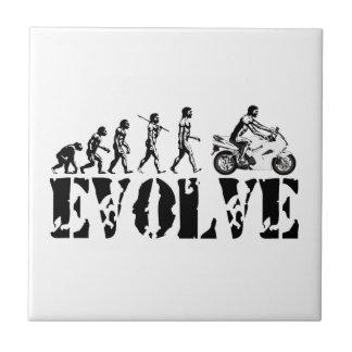 Motorcycle Sportbike Motor Evolution Sports Art Ceramic Tile