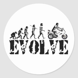 Motorcycle Sportbike Motor Evolution Sports Art Sticker