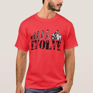 Motorcycle Sportbike Motor Evolution Sports Art T-Shirt
