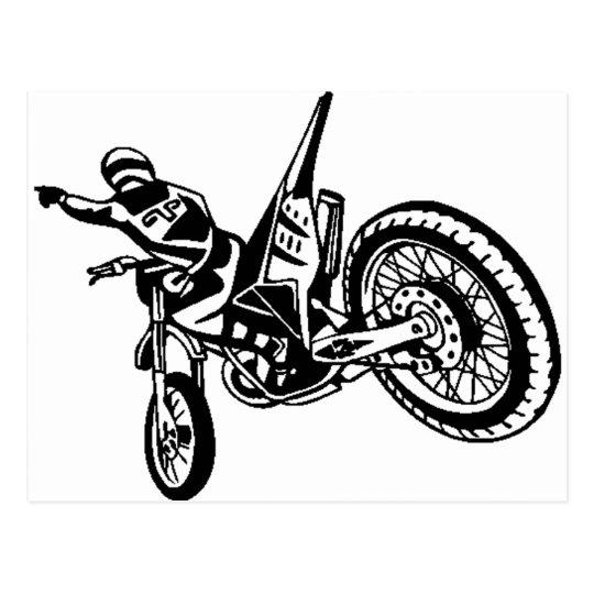 Motorcycle Sports Bike Postcard