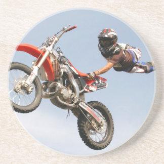 Motorcycle Stunts Drink Coaster