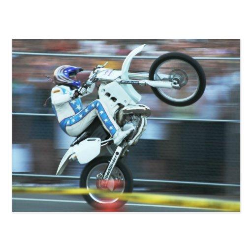 Motorcycle Stunts Postcards