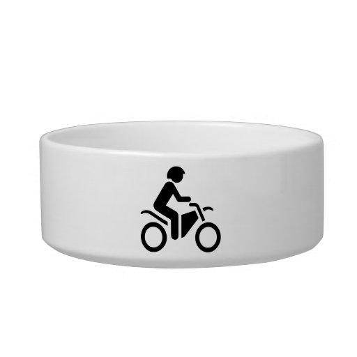 Motorcycle Symbol Bowl