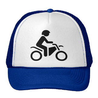 Motorcycle Symbol Trucker Hat