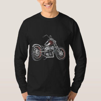 Motorcycle. T Shirt
