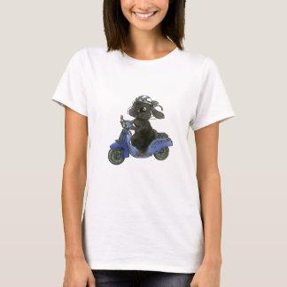 Motorcycle T shirt of rabbit