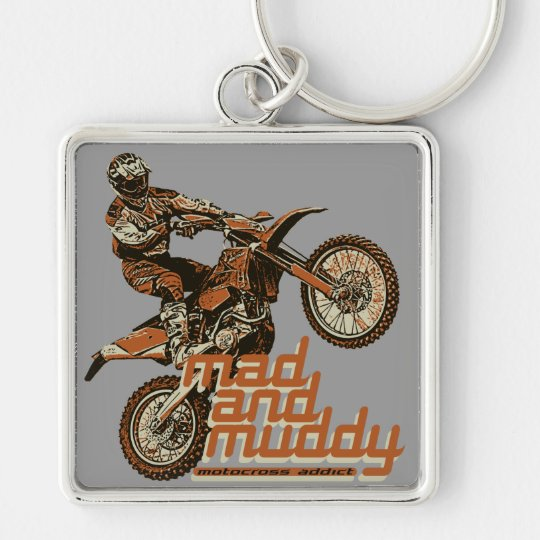 Motorcycle team keychain