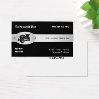 Motorcycle Theme Business Card